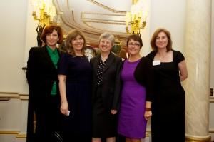 The TeenTech Awards team Gis Milinovich, Maggie Philbin, Sue O'Hare, helen Wilson, Karen Thomas