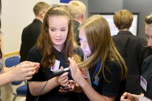 TeenTech Humber event 2013 at the KC Stadium, Hull, 11 July 2013.