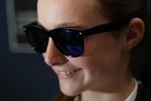 Photoglas' photosensitive epilepsy gasses that help people with epilepsy to monitor their surroundings. Inbuilt with tech that gives directions to onlookers when the wearer is having a fit