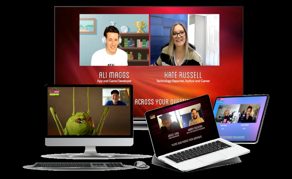 TeenTech Live across screens